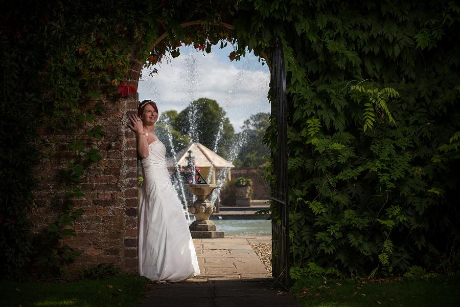 Arley Arboretum Bridal Portrait