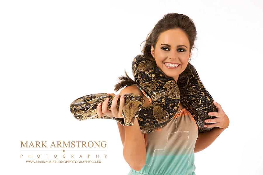 Portrait Photography - Emma & Rodrick snake wedding photography photo dudley stourbridge