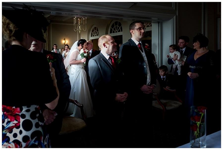 brockencote hall hotel, black and white wedding photography