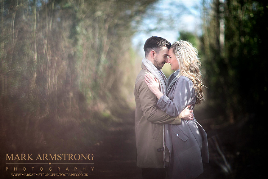 Winter Engagement Himley Hall Sabrina & Chris