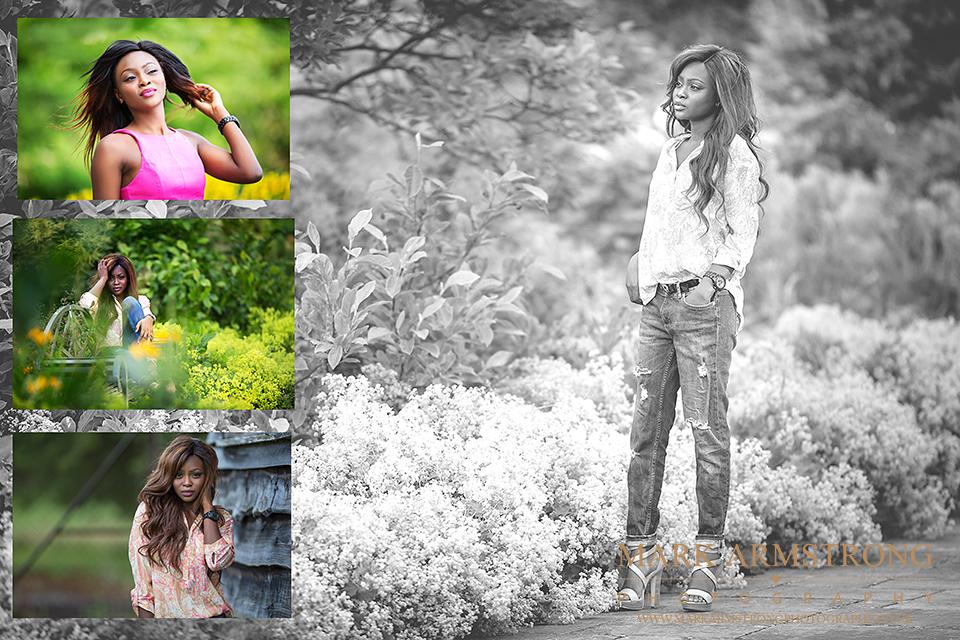 Himley Hall Black & White Portrait photographer-Leah