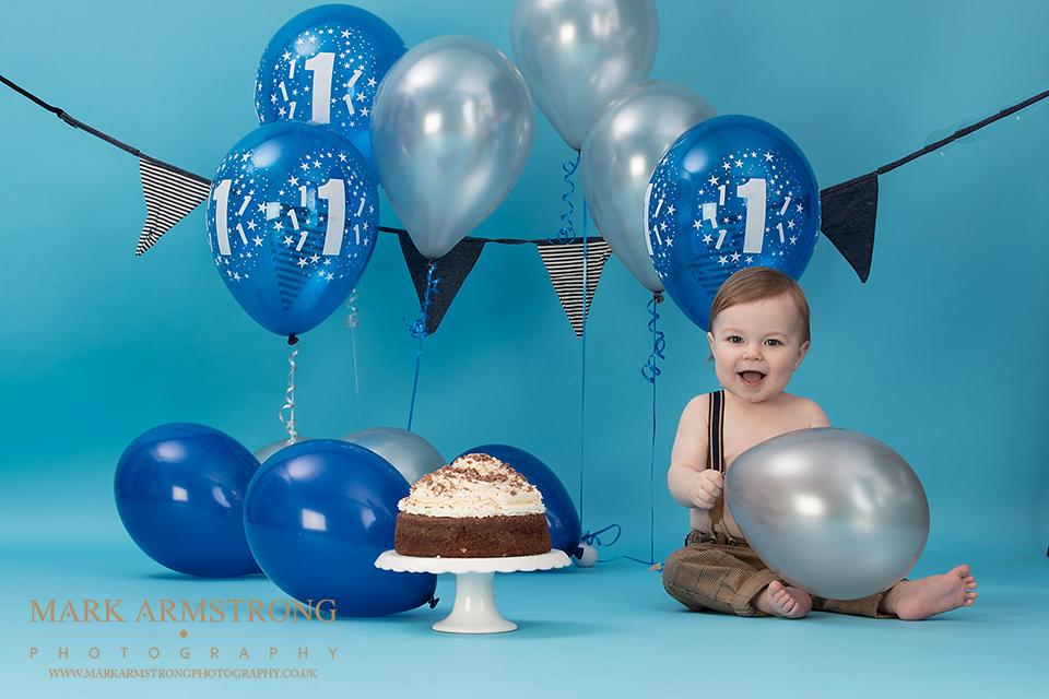 cake smash 1st birthday